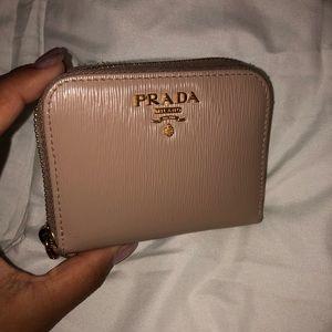 Authentic PRADA Mini Zip Wallet